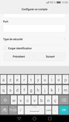 Huawei P9 - E-mail - Configuration manuelle - Étape 18