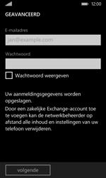 Nokia Lumia 530 - E-mail - Handmatig instellen - Stap 8