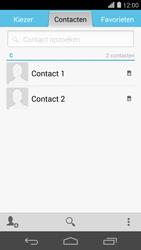 Huawei Ascend P7 4G (Model P7-L10) - Contacten en data - Contacten kopiëren van SIM naar toestel - Stap 4