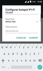 Alcatel Pixi 4 - Wi-Fi - Como usar seu aparelho como um roteador de rede wi-fi - Etapa 9