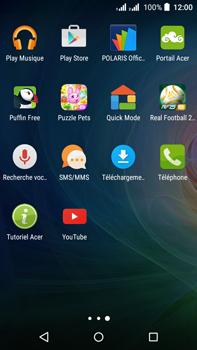 Acer Liquid Z630 - SMS - Configuration manuelle - Étape 3