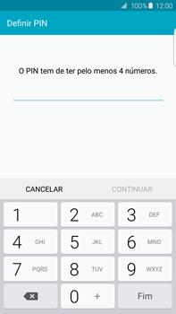 Samsung Galaxy S6 Edge + - Segurança - Como ativar o código de bloqueio do ecrã -  7