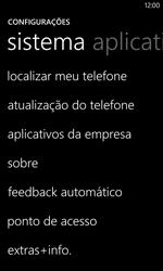 Nokia Lumia 1020 - Funções básicas - Como restaurar as configurações originais do seu aparelho - Etapa 6