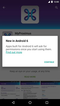 Huawei Google Nexus 6P - Applications - MyProximus - Step 8