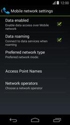 Acer Liquid E600 - Internet - Usage across the border - Step 6