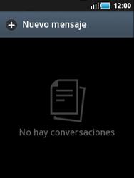 Samsung S5570 Galaxy Mini - Mensajería - Configurar el equipo para mensajes de texto - Paso 3