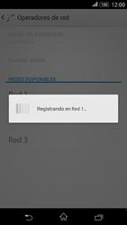 Sony Xperia E4g - Red - Seleccionar una red - Paso 9