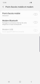Samsung Galaxy S10 Plus - Internet - comment configurer un point d'accès mobile - Étape 6