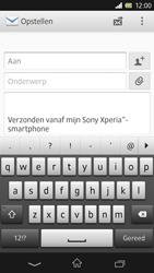 Sony C6603 Xperia Z - E-mail - e-mail versturen - Stap 4