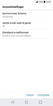 LG Q6 (M700) - E-mail - Account instellen (POP3 met SMTP-verificatie) - Stap 19