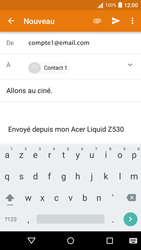 Acer Liquid Z530 - E-mail - envoyer un e-mail - Étape 7