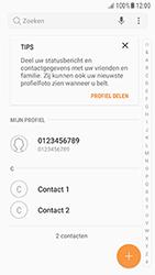 Samsung Galaxy A5 (2016) - Android Nougat - Contactgegevens overzetten - delen via Bluetooth - Stap 4
