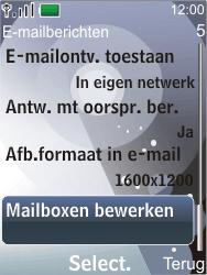 Nokia 7210 supernova - E-mail - Handmatig instellen - Stap 6