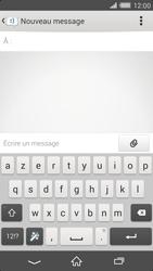 Sony Xperia Z2 - Contact, Appels, SMS/MMS - Envoyer un MMS - Étape 5
