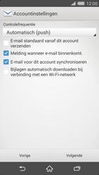 Sony D6503 Xperia Z2 - E-mail - e-mail instellen: IMAP (aanbevolen) - Stap 16