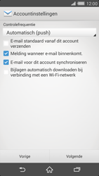 Sony D6503 Xperia Z2 - E-mail - Handmatig instellen - Stap 16