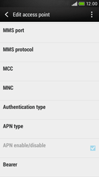 HTC Desire 601 - Internet - Manual configuration - Step 11