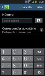 Samsung SM-G3502T Galaxy Core Plus Duo TV - Chamadas - Como bloquear chamadas de um número específico - Etapa 9