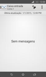 Sony Xperia E1 - Email - Configurar a conta de Email -  19