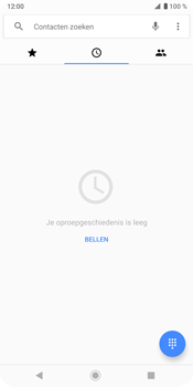 Sony Xperia XZ3 - Voicemail - handmatig instellen - Stap 5