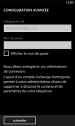 Nokia Lumia 820 LTE - E-mail - Configurer l