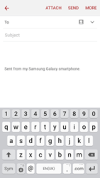 Samsung J320 Galaxy J3 (2016) - E-mail - Sending emails - Step 5