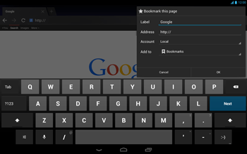 Acer Iconia Tab A3 - Internet - Internet browsing - Step 7