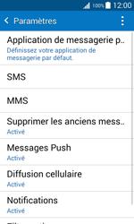 Samsung J100H Galaxy J1 - SMS - configuration manuelle - Étape 6