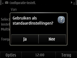 Nokia E6-00 - MMS - automatisch instellen - Stap 8