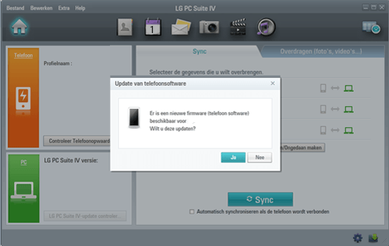LG P875 Optimus F5 - Software - Installeer firmware update - Stap 5