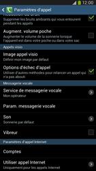 Samsung I9205 Galaxy Mega 6-3 LTE - Messagerie vocale - configuration manuelle - Étape 7