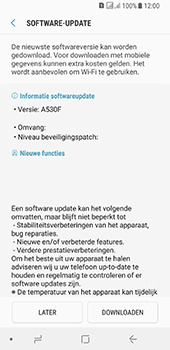 Samsung galaxy-a8-2018-sm-a530f-android-oreo - Software updaten - Update installeren - Stap 7