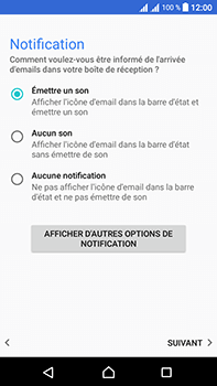 Sony Xperia L1 - E-mail - Configuration manuelle - Étape 21
