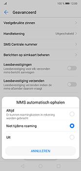 Huawei P20 Lite - MMS - probleem met ontvangen - Stap 7