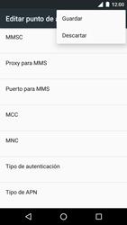 Motorola Moto G 3rd Gen. (2015) (XT1541) - Mensajería - Configurar el equipo para mensajes multimedia - Paso 15