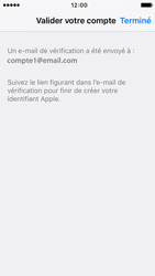 Apple iPhone SE - Applications - Créer un compte - Étape 24
