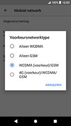Sony F5321 Xperia X Compact - Android Oreo - 4G instellen  - Toestel instellen voor 4G - Stap 7