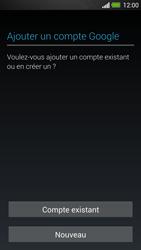 HTC One - Applications - Créer un compte - Étape 4
