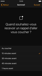Apple iPhone 6 iOS 10 - iOS features - Coucher - Étape 8
