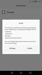 Huawei Y6 II - Email - Manual configuration - Step 5