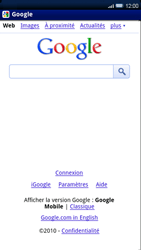 Sony Ericsson Xperia X10 - Internet - navigation sur Internet - Étape 4
