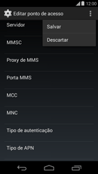 Motorola Moto E (1st Gen) (Kitkat) - Internet (APN) - Como configurar a internet do seu aparelho (APN Nextel) - Etapa 15