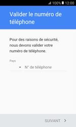 Samsung G389 Galaxy Xcover 3 VE - Applications - Créer un compte - Étape 7