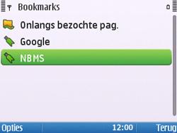 Nokia E5-00 - Internet - Hoe te internetten - Stap 12