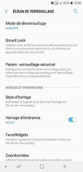 Samsung Galaxy A6 - Sécuriser votre mobile - Activer le code de verrouillage - Étape 12