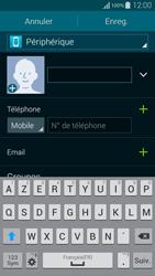 Samsung Galaxy Alpha - Contact, Appels, SMS/MMS - Ajouter un contact - Étape 8