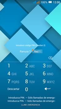 Alcatel Pop C9 - Primeros pasos - Activar el equipo - Paso 3