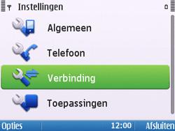 Nokia E5-00 - MMS - handmatig instellen - Stap 5