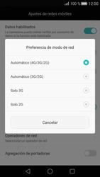 Huawei P8 - Red - Seleccionar el tipo de red - Paso 6