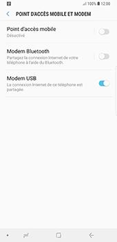 Samsung Galaxy Note 9 - Internet et connexion - Utiliser le mode modem par USB - Étape 9
